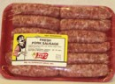 Pork sausage, links, fresh