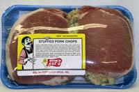 Zup's Stuffed Boneless Pork Chops