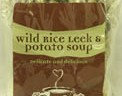Leek & Potato Wild Rice Soup serves 4-6