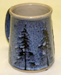 Ceramic Wild Rice Coffee Mugs